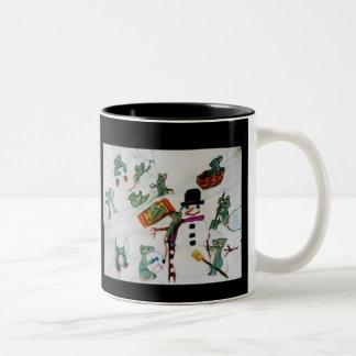 MICE IN THE SNOW mug
