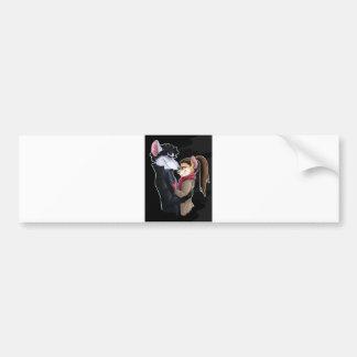 Mice love bumper sticker