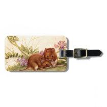 mice luggage tag