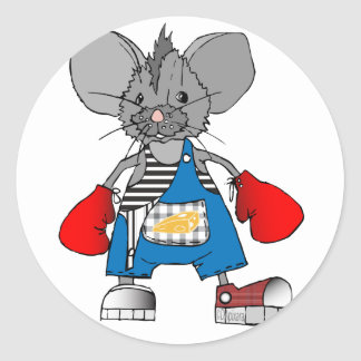 Mice Mike American Apparel T-Shirts and Gifts Classic Round Sticker