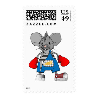 Mice Mike American Apparel T-Shirts and Gifts Stamps