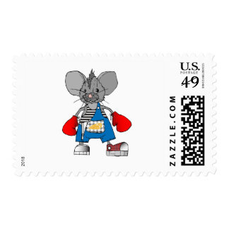 Mice Mike American Apparel T-Shirts and Gifts Postage Stamp