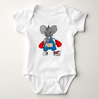 Mice Mouse Mike Customizable Baby Bodysuit