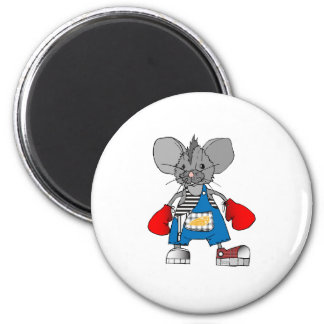 Mice Mouse Mike Customizable 2 Inch Round Magnet