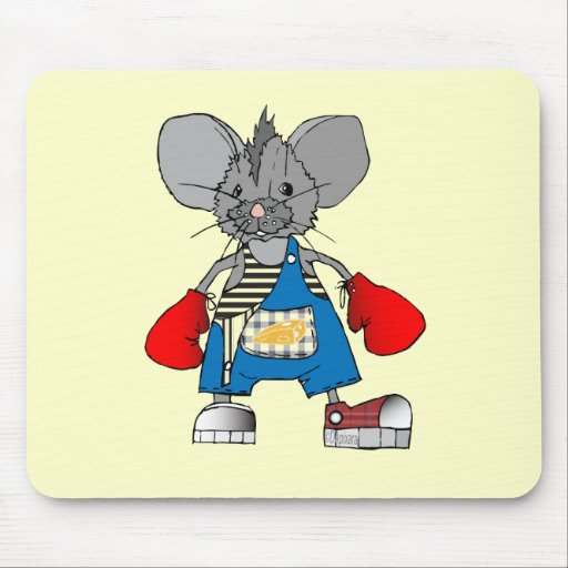 Mice Mouse Mike Customizable Mouse Pad