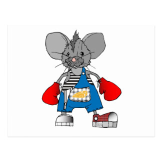 Mice Mouse Mike Customizable Post Cards