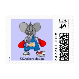 Mice Mouse Mike Customizable Postage Stamp