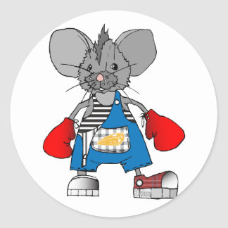 Mice Mouse Mike Customizable Sticker