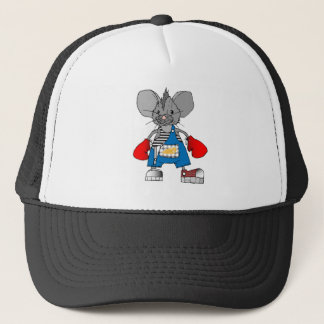 Mice Mouse Mike Customizable Trucker Hat