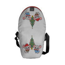 mice of Christmas Courier Bag