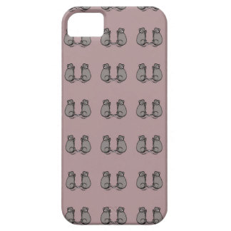 Mice! pink pat. iPhone SE/5/5s case