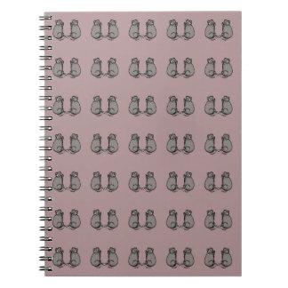 Mice! pink pat. notebook