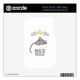 Mice Rule Decal For iPod Touch 4G