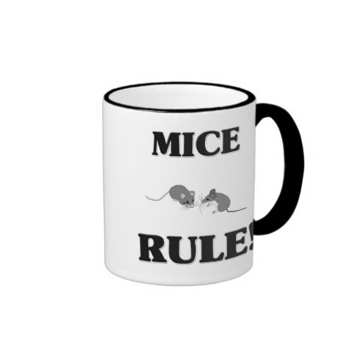 MICE Rule! Ringer Coffee Mug