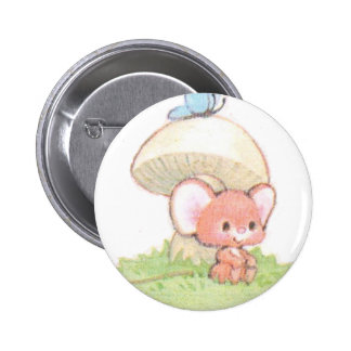 Mice Summertime Daydreaming Button