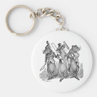 Mice with Silverware Keychain