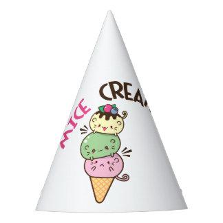 Micecream Ice Cream Party Hat