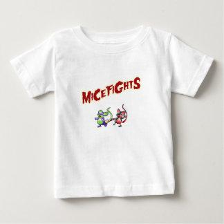 micefights playera de bebé