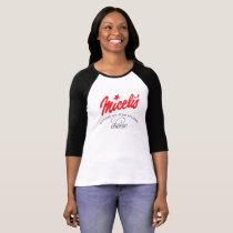 Miceli's Bella Canvas 3/4 Sleeve Raglan T-Shirt