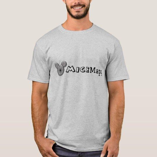 MiceMaps.net Grey Shirt