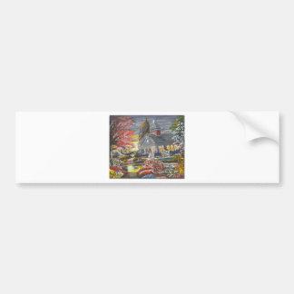Michael A. Williams International Art Gallery Car Bumper Sticker
