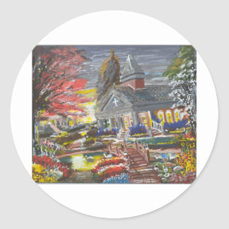 Michael A. Williams International Art Gallery Classic Round Sticker
