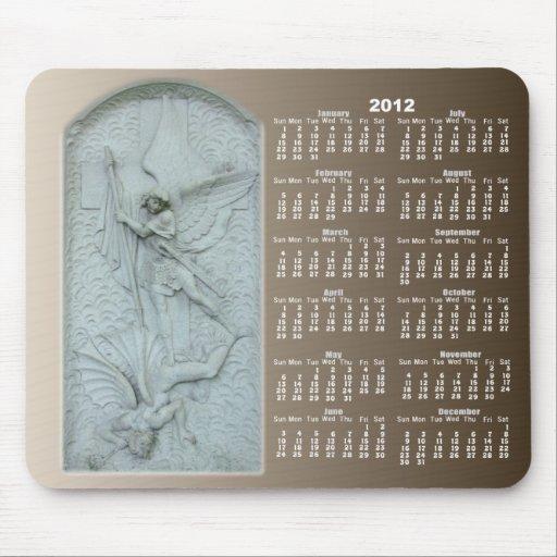 Michael and Lucifer calendar ~ mousepad