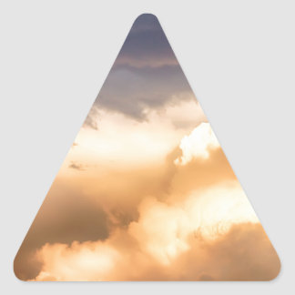 Michael Angelo Cloudscape Triangle Sticker