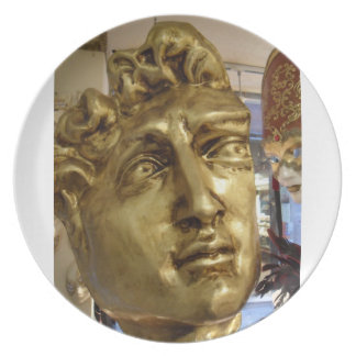 Michael Angelo's David Venetian Mask Plate