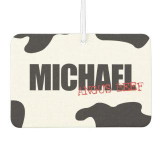 "Michael ""Angus Beef"" Trendy Air Freshener"