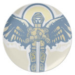Michael Archangel Party Plate