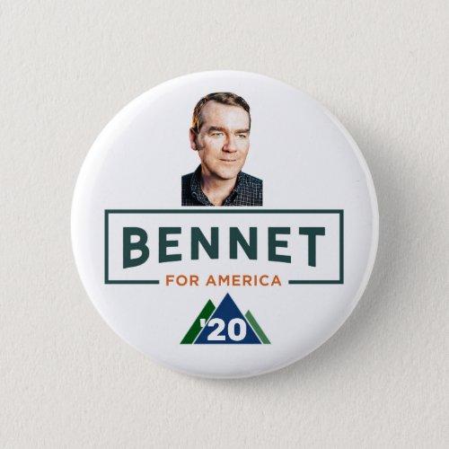 Michael Bennet for President Button