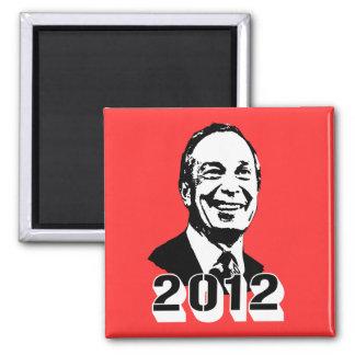 Michael Bloomberg 2012 Imán Cuadrado