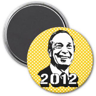 Michael Bloomberg 2012 Imán Redondo 7 Cm