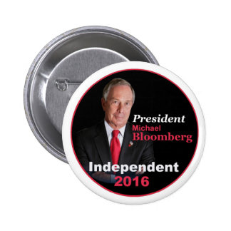 Michael BLOOMBERG 2016 Button