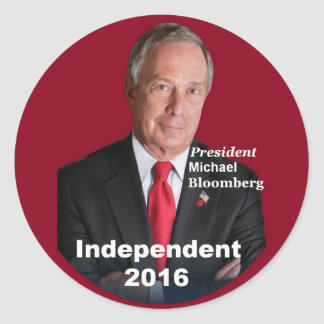 Michael BLOOMBERG 2016 Sticker