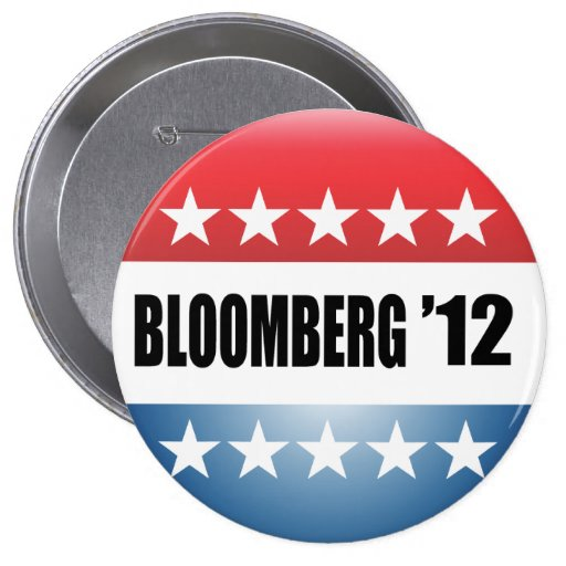 MICHAEL BLOOMBERG PINBACK BUTTONS