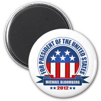 Michael Bloomberg Imán Redondo 5 Cm