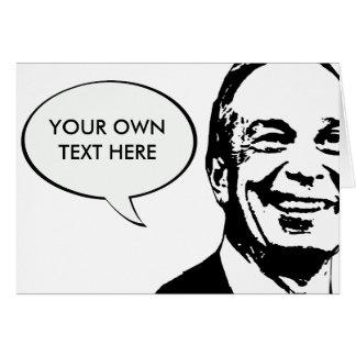 Michael Bloomberg Tarjeta De Felicitación