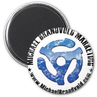 Michael Brandvold Marketing Distressed Logo Refrigerator Magnets
