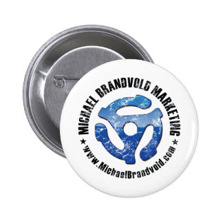Michael Brandvold Marketing Distressed Logo Pins