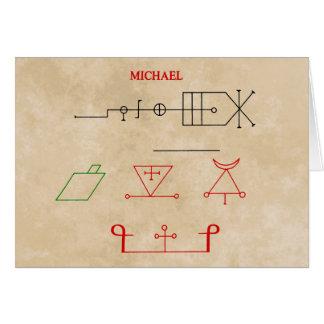 MICHAEL CARDS