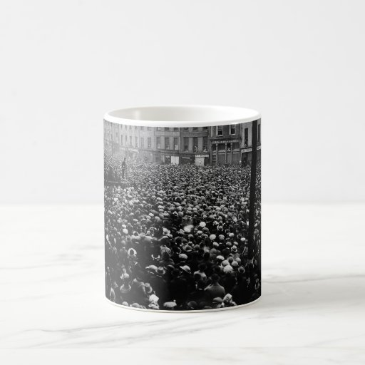 Michael Collins Free State Demonstration 1922 Mug