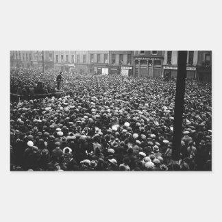 Michael Collins Free State Demonstration 1922 Rectangular Sticker