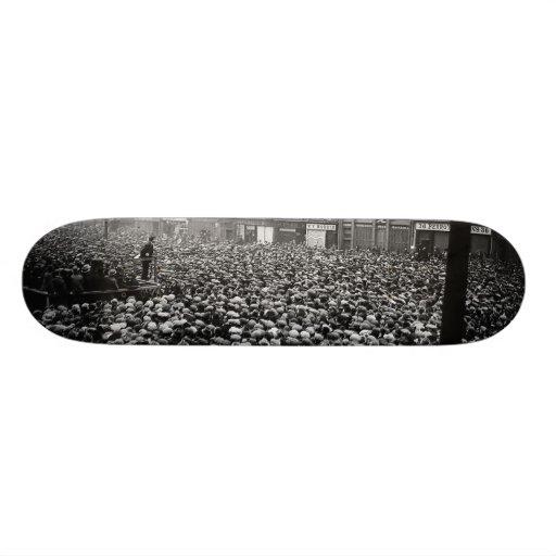 Michael Collins Free State Demonstration 1922 Skate Decks
