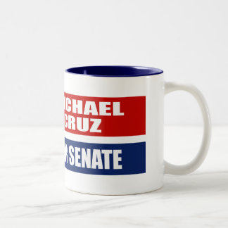 MICHAEL CRUZ FOR GOVERNOR Two-Tone COFFEE MUG
