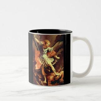 Michael el arcángel tazas de café