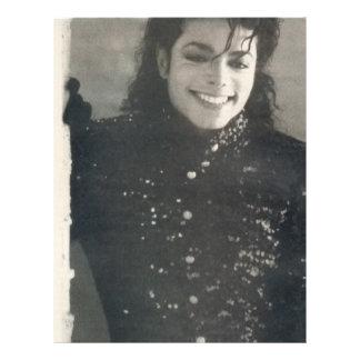 """Michael en el llavero de París Folleto 8.5"""" X 11"""""""