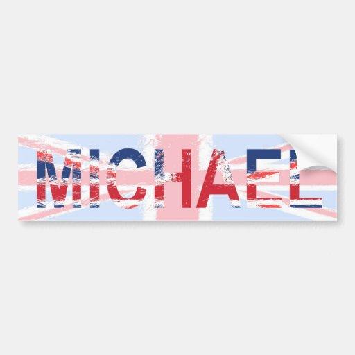 Michael Etiqueta De Parachoque