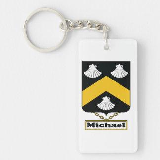 Michael Family Crest Keychain